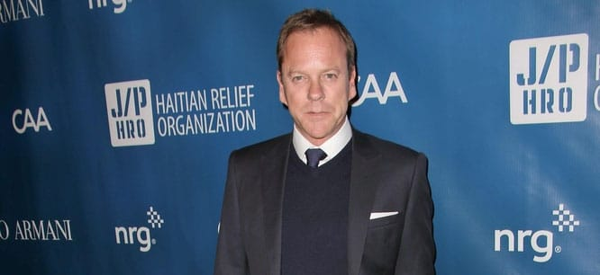 Kiefer Sutherland - 2nd Annual Sean Penn and Friends Help Haiti Home Gala Benefiting J/P HRO Presented by Giorgio Armani - Arrivals