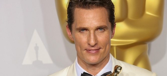 Matthew McConaughey - 86th Annual Academy Awards - Press Room