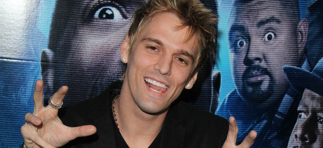 "Aaron Carter - ""A Haunted House 2"" Los Angeles Premiere - Arrivals"