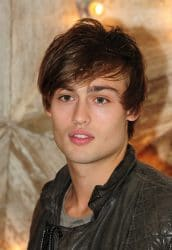 Douglas Booth arriving for The Net A Porter Party with Dolce & Gabbana