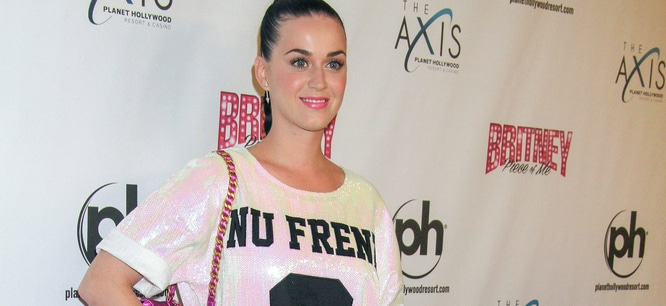 """Katy Perry - """"Britney: Pieces of Me"""" Grand Opening at Planet Hollywood Las Vegas"""