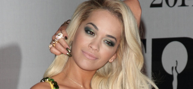 Rita Ora - BRIT Awards 2014 - Arrivals thumb