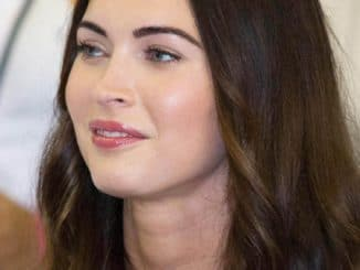 Megan Fox at some event in Sao Paulo thumb