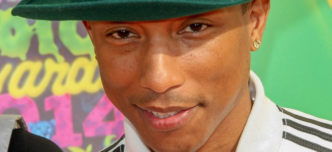 Pharrell Williams - Nickelodeon's 27th Annual Kids' Choice Awards thumb
