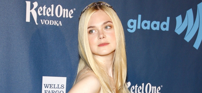 Elle Fanning - 24th Annual GLAAD Media Awards - Arrivals