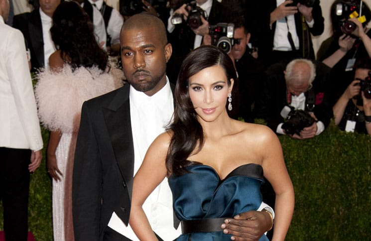 "Kanye West, Kim Kardashian - ""Charles James: Beyond Fashion"" Costume Institute Gala"