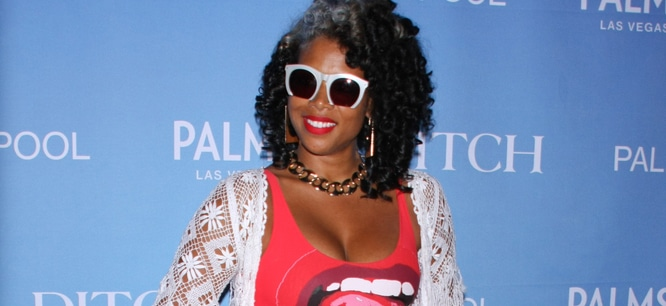 "Kelis - Kelis in Concert at ""Ditch Fridays"" at the Palms Pool in Las Vegas thumb"