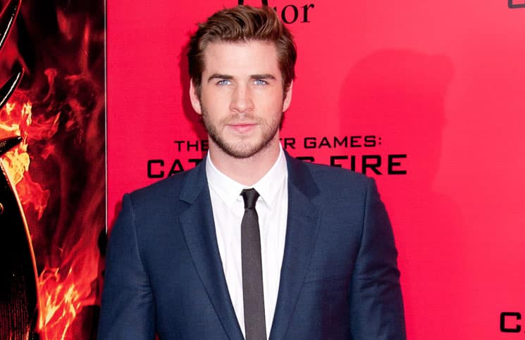 "Liam Hemsworth - ""The Hunger Games: Catching Fire"" New York City Special Screening"