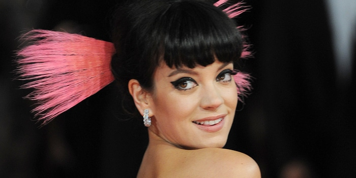 Lily Allen - EE British Academy Film Awards 2014