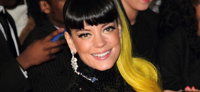 Lily Allen - BRIT Awards 2014 - Arrivals