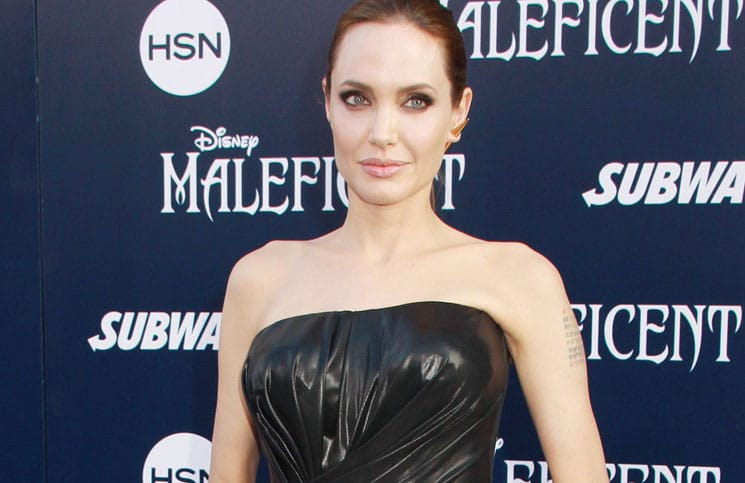 "Angelina Jolie - World Premiere Of Disney's ""Maleficent"" - Arrivals thumb"