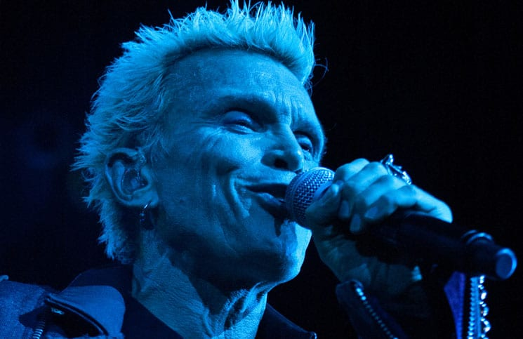 Billy Idol in Concert at House of Blues at Showboat Casino Hotel in Atlantic City