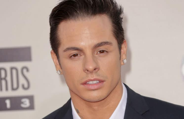 Casper Smart - 41st Annual American Music Awards - Arrivals