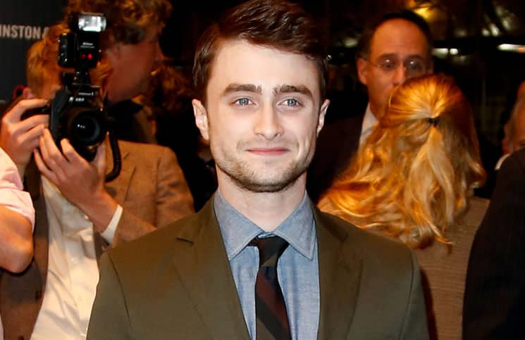 "Daniel Radcliffe - ""Kill Your Darlings"" New York City Screening Hosted by Cinema Society and Johnston & Murphy"