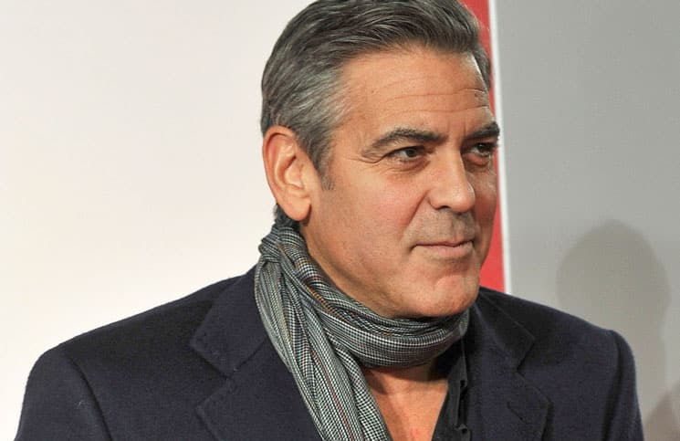 "George Clooney - ""The Monuments Men"" UK Premiere"