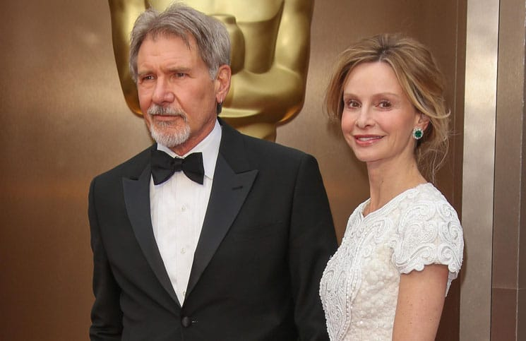 Harrison Ford, Calista Flockhart - 86th Annual Academy Awards