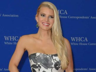 Jessica Simpson - 100th Annual White House Correspondents' Association Dinner