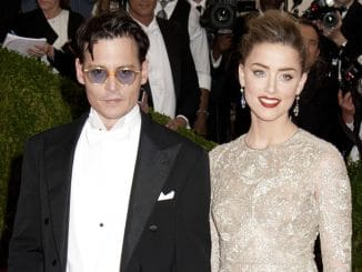 "Johnny Depp, Amber Heard - ""Charles James: Beyond Fashion"" Costume Institute Gala"