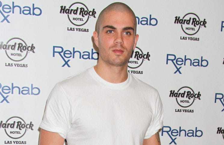 Max George - The Wanted Take Over RehabLV Dayclub for One of Their Final Performances