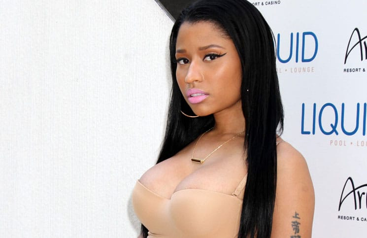 Nicki Minaj Hosts Memorial Day Celebration at Liquid Pool & Lounge in Las Vegas
