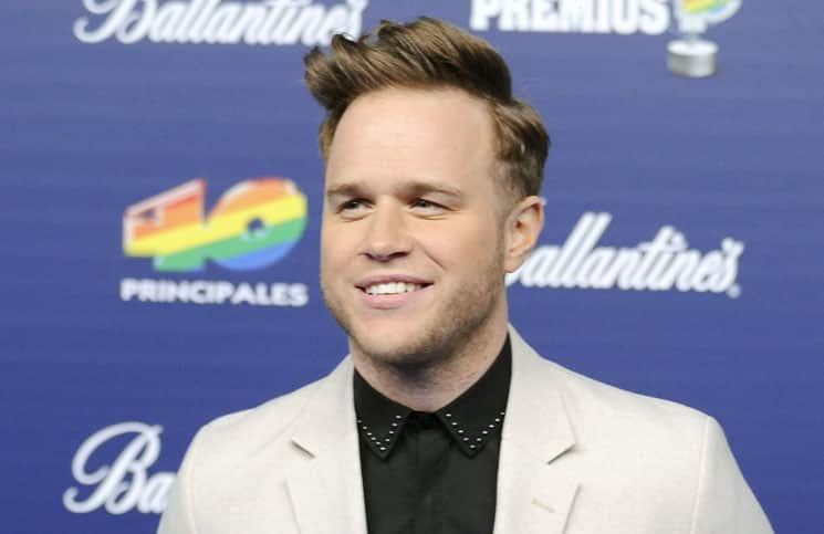 Olly Murs - 40 Principales Awards 2013 at Palacio de los Deportes in Madrid