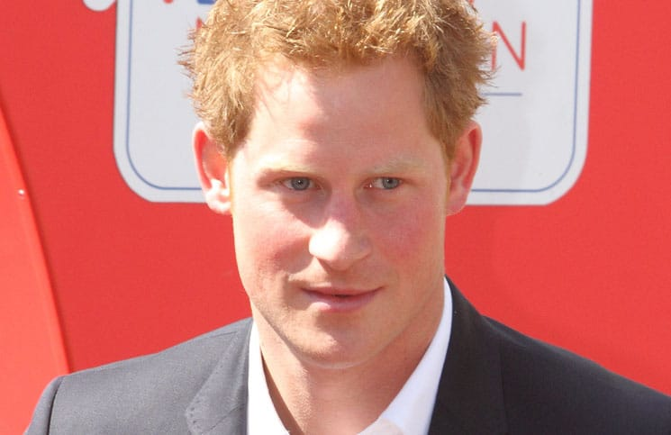 Prince Harry - London Marathon 2013 - Presentations at the Finish of the Race thumb