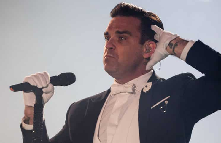 "Robbie Williams: ""Ich vermisse George Michael"" - Promi Klatsch und Tratsch"