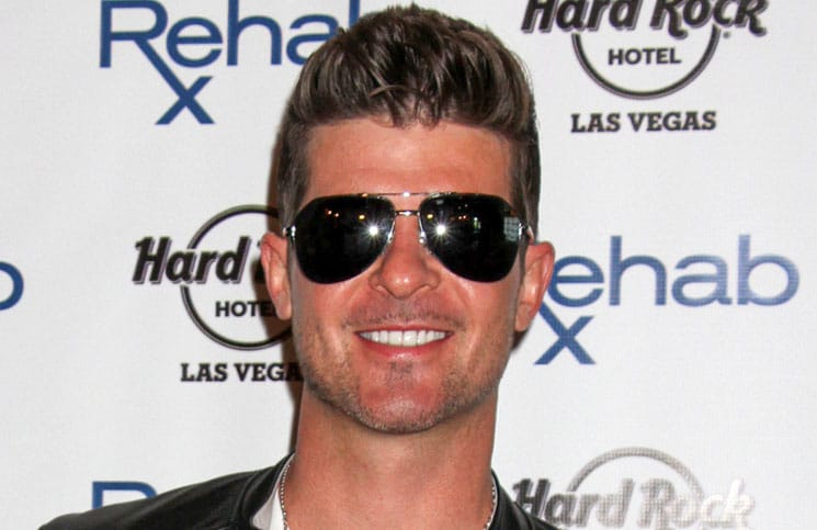Robin Thicke Launches the 11th Season of Rehab at Hard Rock Las Vegas