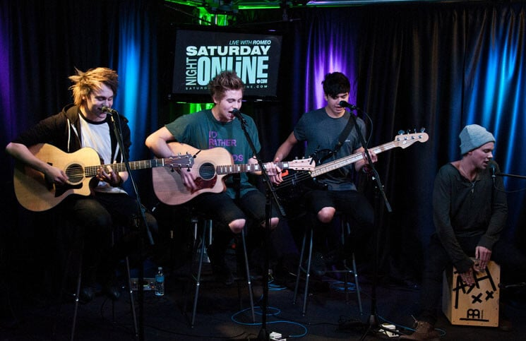 5 Seconds of Summer in Concert at Q102's Performance Theatre in Bala Cynwyd