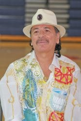 Carlos Santana and House of Blues Musical Instrument Donation at Andre Agassi College