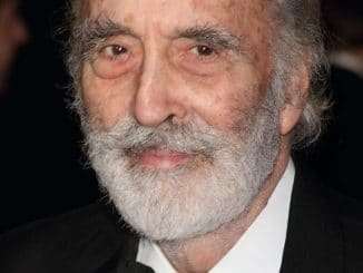 "Christopher Lee - ""Skyfall"" Royal World Premiere"