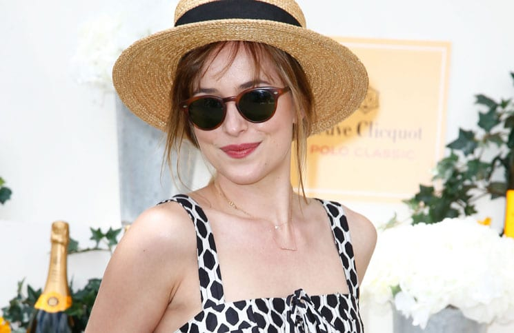 Dakota Johnson - 7th Annual Veuve Cliquot Polo Classic in Jersey City