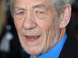 "Ian McKellen - ""X-Men: Days of Future Past"" UK Premiere"