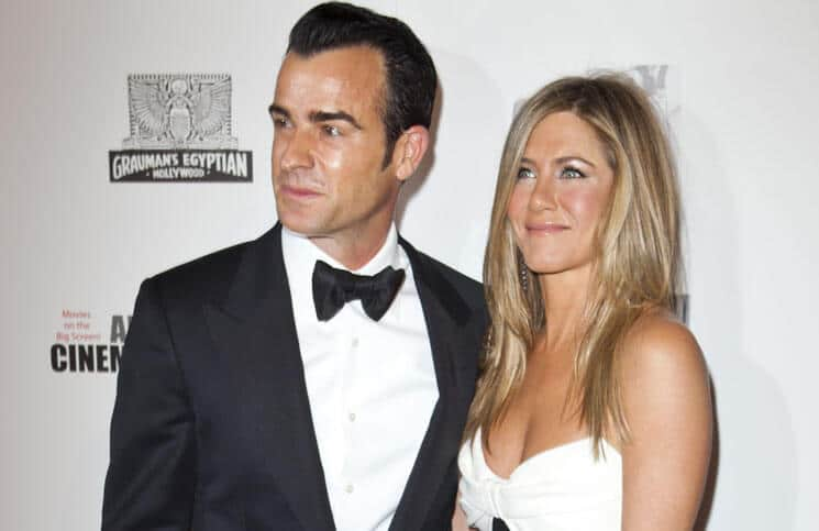 Justin Theroux and Jennifer Aniston - 26th Annual American Cinematheque Award