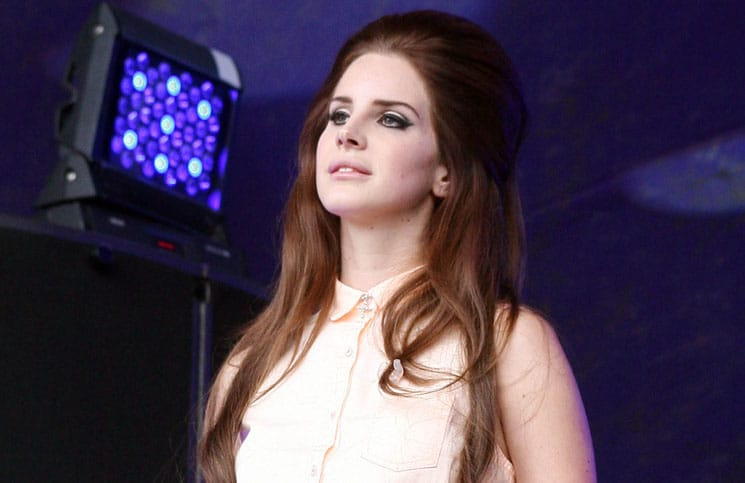 Lana Del Rey - Lovebox Festival 2012 - Day 3