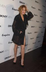 Lindsay Lohan - Esquire and DKNY MEN Official Opening Night Party, London Collections