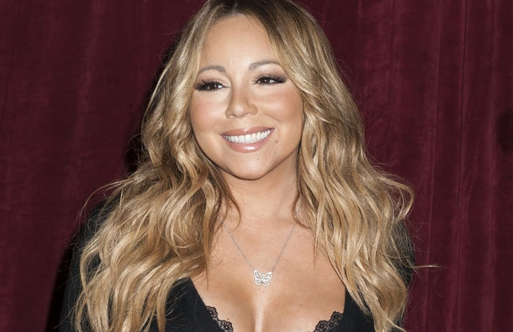 "Mariah Carey Announces the Launch of Her Go N'Syde Bottle ""Butterfly"" at Regis Hotel"