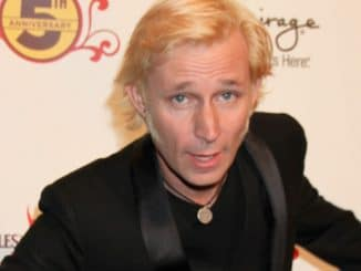 """Mike Dirnt - 5th Anniversary Celebration of """"The Beatles LOVE by Cirque du Soleil"""" at the Mirage in Las Vegas"""