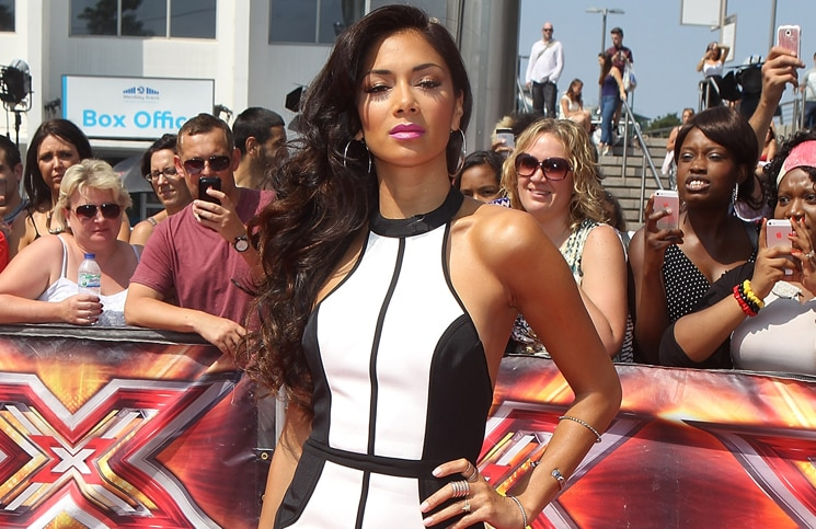 "Nicole Scherzinger - ""The X Factor"" UK Season 10 Auditions at Wembley Arena in London"