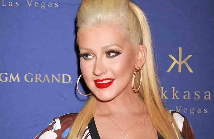 Christina Aguilera - Hakkasan Nightclub 2nd Anniversary Party Hosted by Christina Aguilera