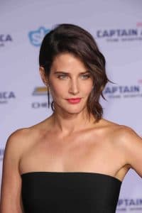 "Cobie Smulders - ""Captain America: The Winter Soldier"" Los Angeles Premiere"