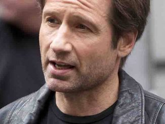 "David Duchovny - ""Californication"" TV Series Filming on Jones Street in New York City"