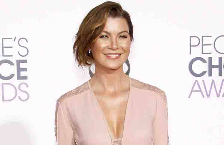 Ellen Pompeo - The 41st Annual People's Choice Awards - Arrivals