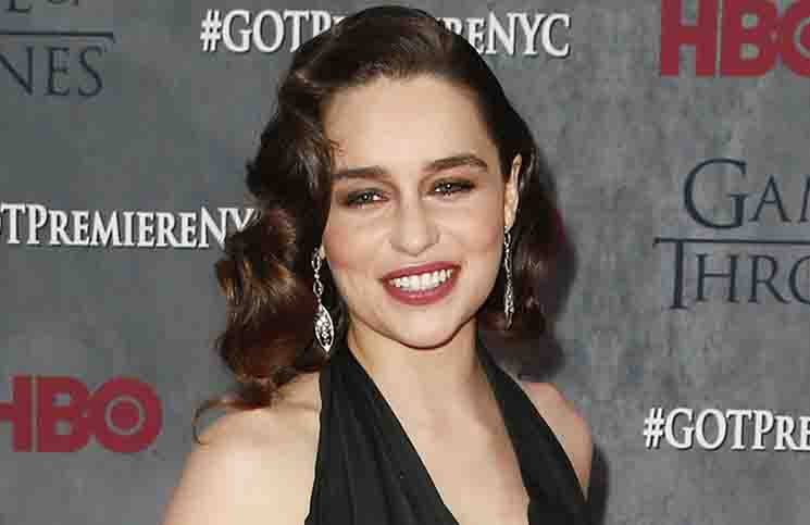 "Emilia Clarke - ""Game Of Thrones"" Season 4 New York City Premiere"