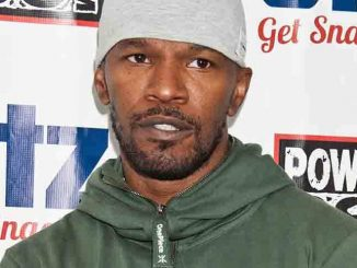 Jamie Foxx Visits Power 99's Performance Theatre in Bala Cynwyd