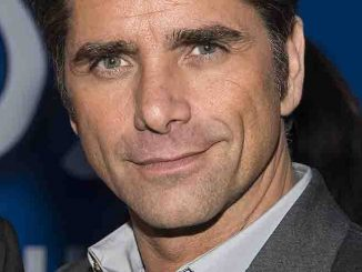 John Stamos Promotes Dannon Yogurt in New York