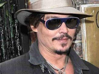 Johnny Depp Arrives to Address the Oxford University Students Union
