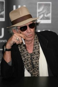 """Keith Richards """"Life"""" Book Signing at Waterstones in London"""