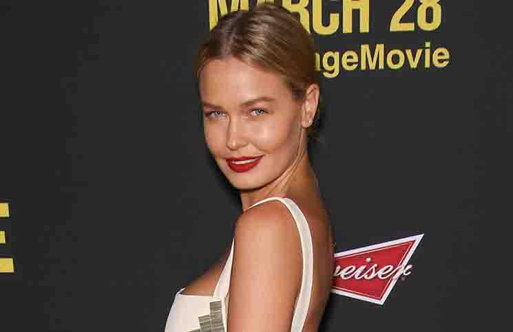"Lara Bingle - ""Sabotage"" Los Angeles Premiere - Arrivals"