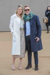 Ronan Keating and Storm Uechtritz - London Fashion Week Fall/Winter 2014/15